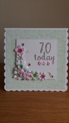 70th birthday card.