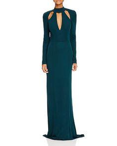 ABS by Allen Schwartz Cutout Gown | Bloomingdale's