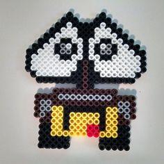 Wall-E perler beads by BriezBeadz