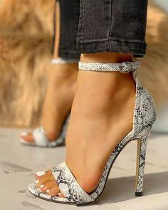 high heels – High Heels Daily Heels, stilettos and women's Shoes Stilettos, Pumps Heels, Stiletto Heels, Heeled Sandals, Sandals Outfit, Shoes Sandals, Snakeskin Heels, Cute Shoes Heels, Pretty Heels