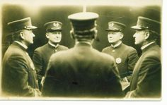 mont thornburg, grayce's (my great-grandfather's sister) husband, LAPD, 1920's