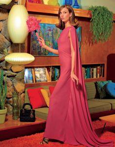 Americana Manhasset Campaign SS 2012 - Karlie Kloss and Simon Nessman by Rocco Laspata Karlie Kloss, Simon Nessman, Pose, Domestic Goddess, Photoshoot Inspiration, Fashion Inspiration, Modern Fashion, Style Fashion, Purple Fashion