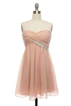 Delicate & Dainty Bridesmaid Dress, Lace Affair - $68.99