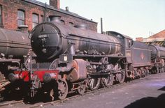 61016 at Doncaster    LNER B1 4-6-0 61016 Inyala  on Doncaster shed circa 1960  Withdrawn October 1965  Photographer - Unknown  By kind permission of Keith Parlow