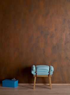 DIY Academy: Rostoptik an der Wand DIY Academy: Rust effect on the wall Diy Academy, Startup Office, Spring School, Wall Painting Decor, Deco Originale, Paint Colors For Living Room, Bude, Furniture Decor, Sweet Home