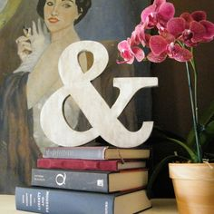 Ampersand & Wood Sign Wedding Photo Prop White by SlippinSouthern, $31.00