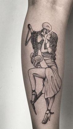 Dope Tattoos, Mini Tattoos, Unique Tattoos, Leg Tattoos, Body Art Tattoos, Tattoo Drawings, Tattoos For Guys, Sleeve Tattoos, Skeleton Tattoos
