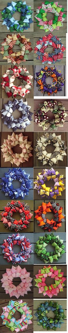 pillow wreath