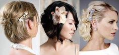 Аксессуары для коротких волос