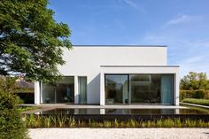 Arplus architectuur & interieurprojecten renovated a house in Lokeren, Belgium with a minimalist approach and attention to details. ...