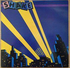 "Shake - Culture Sock, 10"" vinyl EP, Joe Callis, Rezillos, new wave, Sire records #vinyl #newwave"