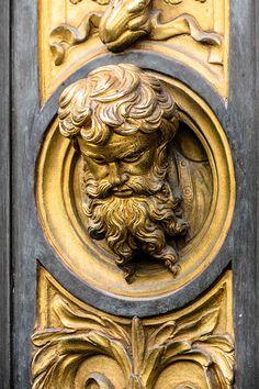 Lorenzo Ghiberti 1378–1455, detail of the East Baptistry doors, Florence