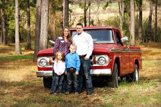 Old truck photo family photography