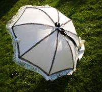 DIY - How to Make a Gothic Lolita (or other) Parasol