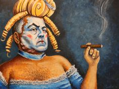 """Let Them Eat Cake"" by Murray Grellis is a caricature of Joe Hockey as Marie Antoinette | #AusPol"