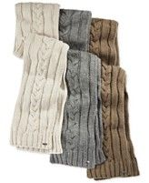 Michael Kors Hand-Knit Cable Scarf