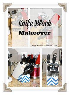 Knife Block Makeover