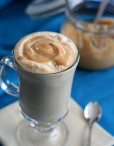 Salted Caramel Latte – Low Carb and Gluten-Free.  Each serving has 6g of carbs