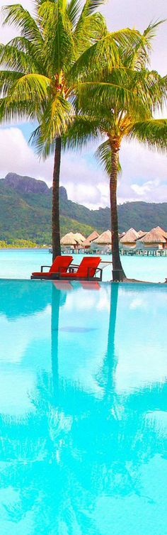 Bora Bora,Tahiti Beach...wish i was there right now! :0