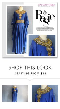"""""""Caftan Yosika 10/II"""" by amra-mak ❤ liked on Polyvore featuring Whiteley and caftanyosika"""