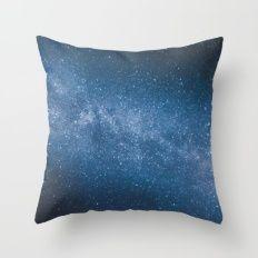 ocean of stars // Austria Throw Pillow