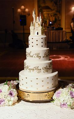 The Disney Wedding Cakes Gallery on Disney's Fairy Tale Weddings is a collection of images featuring wedding cake ideas, designs and wedding cake toppers.