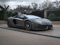 Lamborghini Aventador: Exklusives Einzelstück im Stealthbomber-Design