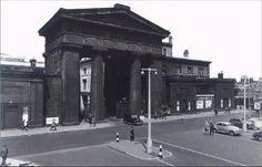 Euston Arch Camden London, East End London, Camden Town, Old London, Euston Station, London History, London Transport, Steam Engine, Plans