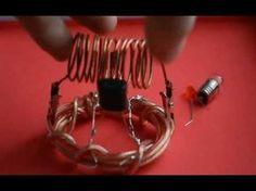 Free energy generator tested on light bulb - даровая Бесконечная энергия - YouTube