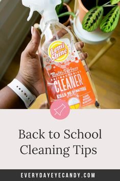 Want to know how to keep your house clean now that school is back in session? Check out these Back to School cleaning tips for busy moms with Amanda Jones, Get The Job, Get One, Deep Cleaning, Cleaning Hacks, Dishwasher Pods, Back To School Shopping, School Photos, How To Make Bed