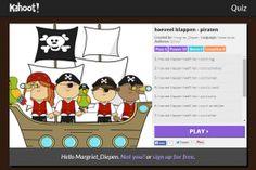 Kahoot Quiz De kinderen geven antwoord door te stemmen met tablet of telefoon (dmv kleur en vormen)