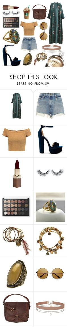 """Blind Date"" by johanne-vm ❤ liked on Polyvore featuring WithChic, River Island, Alice + Olivia, Steve Madden, Fashion Fair, Chanel, NOVICA, Free Press, Fat Face and Miss Selfridge"