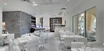 Ristorante Santucci - A new addition just over the bridge in West Palm Beach. Clean, crisp, and a perfect match for a sophisticated Italian palette. Palm Beach Restaurants, Over The Bridge, West Palm Beach, Perfect Match, Crisp, Palette, Table Decorations, Home Decor, Pallet