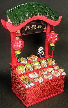 Miniature [Chinese stalls] of Toitoi