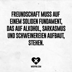 Freunde :) Quotes And Notes, Words Quotes, Me Quotes, Motivational Quotes, Funny Quotes, Inspirational Quotes, Sayings, Fb Memes, German Quotes