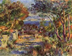Landschaftsmalerei impressionismus  The Garden in the Shade Pierre Bonnard - circa 1901 | ECLECTIC ...
