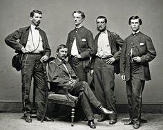 Civil War Photo Print General Buford Staff