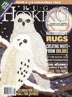 Rug Hooking Magazine - Nov/Dec 2012