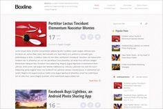 Boxline is a new Magazine WordPress Theme from MyThemeShop,,