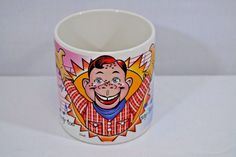 Howdy Doody Time Coffee Mug 1987 NBC Vandor Korea 12 oz. ceramic #Vandor