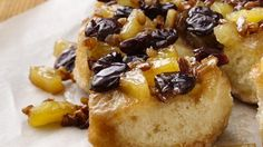 Pineapple-Cherry Biscuits