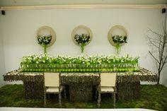 Flower adventure: dekoracje stołów
