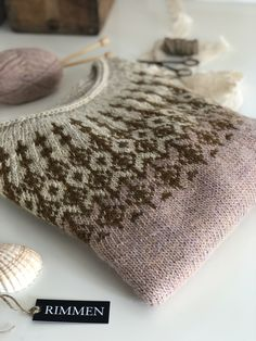 Glitz at the Ritz pattern by Helen Stewart Knitting Designs, Knitting Projects, Knitting Patterns, Fair Isle Knitting, How To Purl Knit, Textiles, Pullover, Knit Crochet, Sweaters For Women