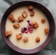 Supa crema de cartofi copti