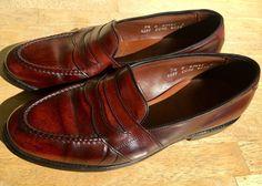 d8772a45a79 Allen Edmonds Shell Cordovan Color  8 Brown 4889 Randolph Loafers 7.5 D