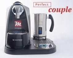 🇺🇸 Our creamer and coffee machine are the perfect couple. They'll give you the most exquisite coffee 🇪🇸 Nuestro creamer y máquina de café son la pareja perfecta. Ellos te darán el más exquisito café