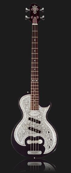 Zemaitis Guitars - Art with Strings. Dream bass?