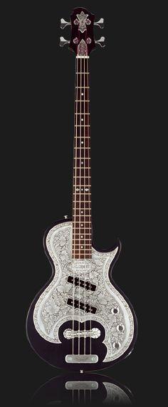 Zemaitis Guitars - Art with Strings. Dream bass?