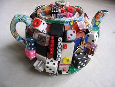 collage teapot