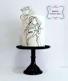 Baby Shower cake - Cake by Lori Mahoney (Lori's Custom Cakes)